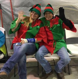 Santa's  Elves. (Valerie Knouse & Gary Smith)